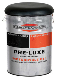 Harley-Davidson Pre-Luxe Genuine Bucket Stool, Steel Barrel, 13 gal. HDL-12137 - Wisconsin Harley-Davidson