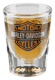 Harley-Davidson Core Bar & Shield Logo Shot Glass, 2 oz. - Clear HDX-98713 - Wisconsin Harley-Davidson