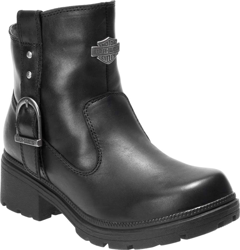 857e39128028 Harley-Davidson® Women s Madera 5-Inch Black Casual Ankle Boots ...