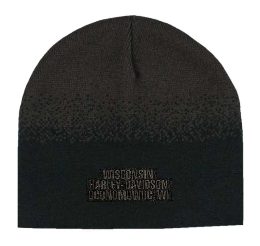 65c94e4f091 Harley-Davidson® Men s Willie G Skull Knit Beanie Hat