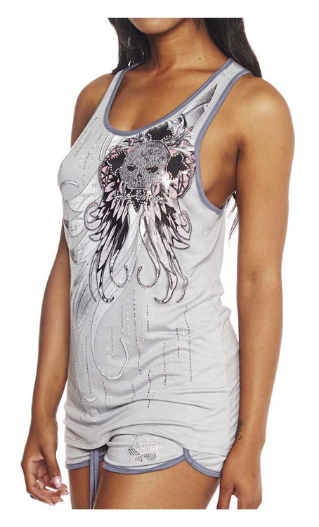 a58e9915581 ... Harley-Davidson Women's Across Too Wings Embellished Sleep Tank. See 1  more picture