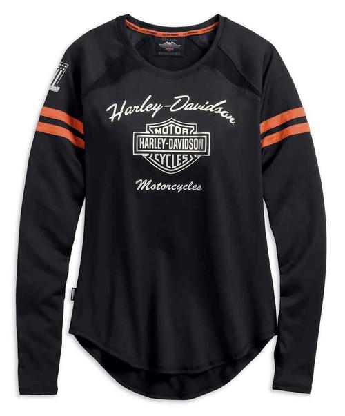 Harley-Davidson Women's Performance Top w/ Coolcore Tech, Black 99225-19VW - Wisconsin Harley-Davidson