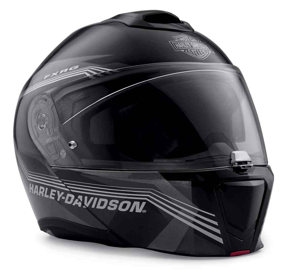 768261ed Harley-Davidson Men's FXRG Sun Shield H29 Modular Helmet, Black 98359-19VX  -. See 2 more pictures