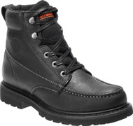 1a2a4cb936a Harley-Davidson® Men's Burdon 6-In Grey or Brown Lace-Up Motorcycle ...