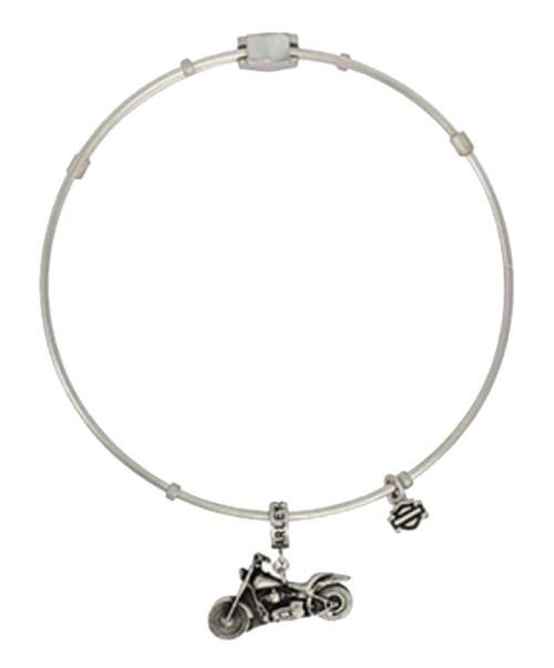 Harley Davidson Charm Bracelet: Harley-Davidson® Women's Motorcycle Charm Bangle Bracelet