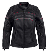 Harley-Davidson Women's FXRG Coolcore Mesh Riding Jacket, Black 98333-19VW - Wisconsin Harley-Davidson