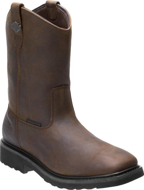 Harley-Davidson Men's Altman Waterproof Safety Toe Moto Boots D93563, D93564 - Wisconsin Harley-Davidson