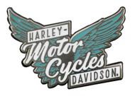 Harley-Davidson 2D Die Cast Pure Freedom Pin, Brushed Nickel Plating P335413 - Wisconsin Harley-Davidson