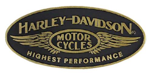 Harley-Davidson Highest Performance Pin w/ Enamel Fill & Brass Finish P336773 - Wisconsin Harley-Davidson