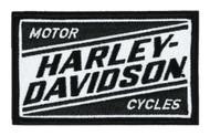 Harley-Davidson Embroidered Ignition H-D Emblem Patch, 3.5 x 2.125 in. EM334881 - Wisconsin Harley-Davidson