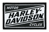 Harley-Davidson Embroidered Ignition H-D Emblem Patch, 3.5 x 2.125 in. EM334881 - Wisconsin Harley-Davidson