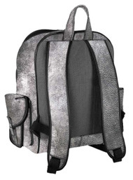 Harley-Davidson B&S Leather Backpack w/ Pockets - Silverado 99678-SILVER - Wisconsin Harley-Davidson