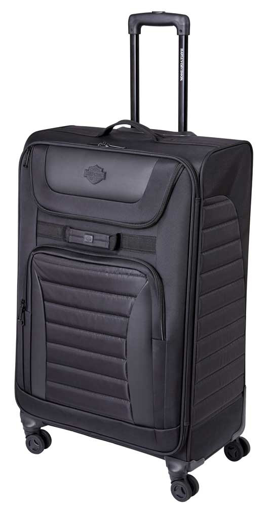4a77d23ee063 Harley-Davidson® Onyx Quilted Wheeled Travel Luggage - Sleek Midnight Black