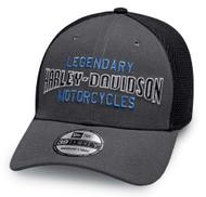 Harley-Davidson Men's Legendary Colorblocked 39THIRTY Baseball Cap 97840-19VM - Wisconsin Harley-Davidson