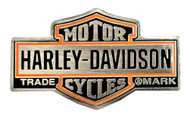 Harley-Davidson 1.5 in. Trademark Bar & Shield Logo Pin, Antique Finish 8008932 - Wisconsin Harley-Davidson