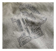 Harley-Davidson Women's #1 Eagle Heathered Muscle Sleeveless Tee 96000-19VW - Wisconsin Harley-Davidson