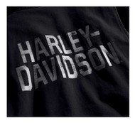 Harley-Davidson Men's Winged Logo Slim Fit Casual Jacket, Black 96691-19VM - Wisconsin Harley-Davidson