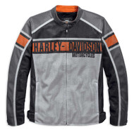 Harley-Davidson Men's Irogami Colorblocked Mesh Riding Jacket 97151-19VM - Wisconsin Harley-Davidson