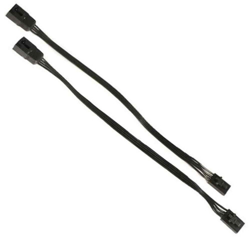 Ciro Shock & Awe 2.0 Wire Extensions, Sold as Pair - Black 41025-41028 - Wisconsin Harley-Davidson