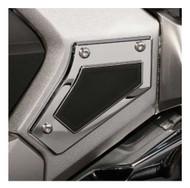 Ciro Goldstrike Swingarm Pivot Covers for Gold Wing, Chrome or Black 78110-78111 - Wisconsin Harley-Davidson