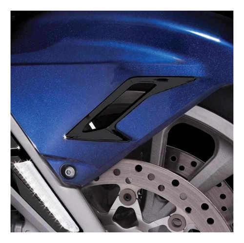 Ciro Goldstrike Front Fender Vent Trim Kit, Chrome or Black 78200-78201 - Wisconsin Harley-Davidson