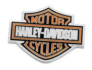Harley-Davidson 1.75 in. Bar & Shield Logo Pin, Shiny Nickel Finish 8008888 - Wisconsin Harley-Davidson