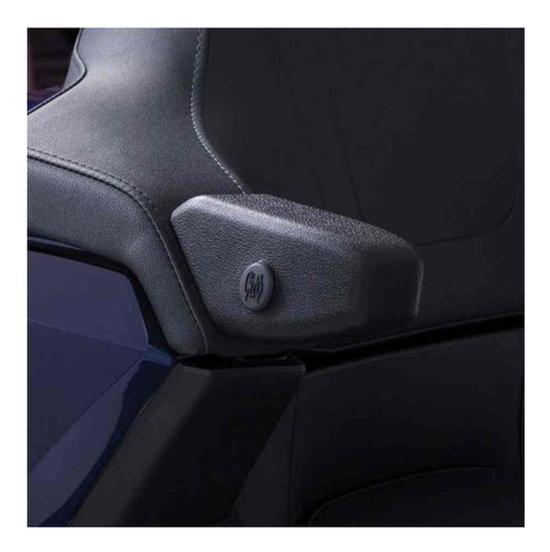 Ciro Goldstrike Passenger Armrests, Sold in Pairs - Fits Gold Wing Tour 25000 - Wisconsin Harley-Davidson
