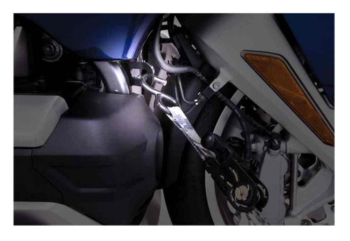 Ciro Goldstrike Tie Down Steel Brackets, Sold in Pairs - Black Finish 98000 - Wisconsin Harley-Davidson