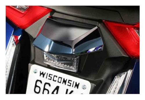 Ciro Goldstrike TWINART License Plate Light Lid - Chrome, Gold Wing Models 78300 - Wisconsin Harley-Davidson