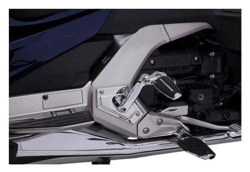 Ciro Goldstrike Adjustable Passenger Comfort Peg Mounts, Chrome -Gold Wing 68200 - Wisconsin Harley-Davidson