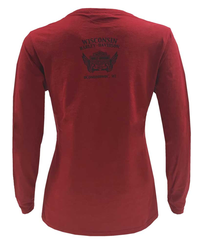 a782e35e ... Harley-Davidson Women's #1 Winged Patriot Long Sleeve. See 1 more  picture