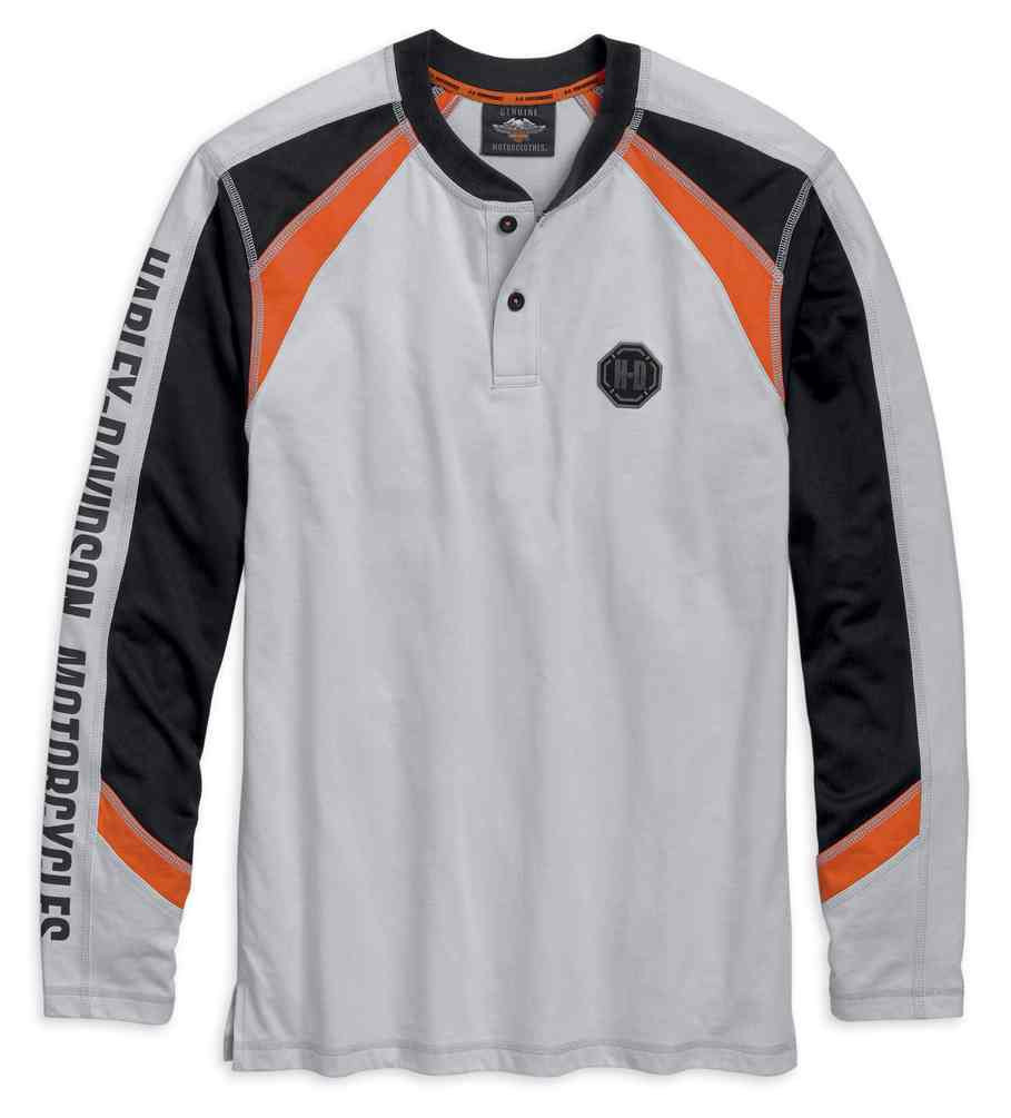 47b953ab1c32 ... Harley-Davidson Men's Sleeve Graphic Long Sleeve Henley,. See 1 more  picture