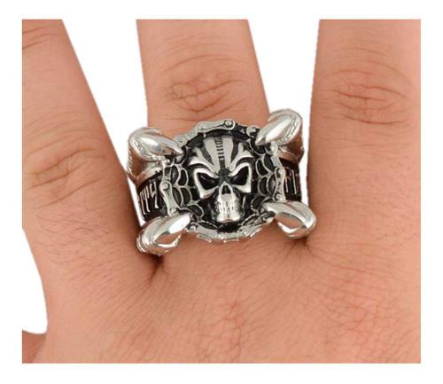 Biker Chain Jewelry Men's Claw & Skull Bike Chain Ring - Stainless Steel SK1775 - Wisconsin Harley-Davidson