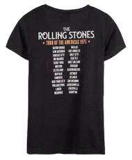 Harley-Davidson Women's Rolling Stones America Tour Short Sleeve Tee - Black - Wisconsin Harley-Davidson