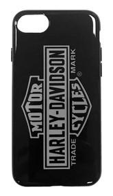 Harley-Davidson Venture Vertical B&S Logo iPhone 7/8 Phone Case, Black 9508 - Wisconsin Harley-Davidson