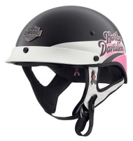Harley-Davidson Women's Pink Label M04 Half Helmet, Pearlized Gloss 98113-20VX - Wisconsin Harley-Davidson