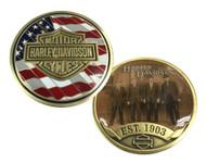Harley-Davidson Originals Challenge Coin, Bar & Shield Est. 1903 Coin 8003456 - Wisconsin Harley-Davidson