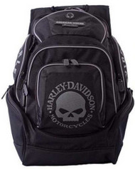 Harley-Davidson Mens Skull Backpack BP1924S-BLACK - Wisconsin Harley-Davidson