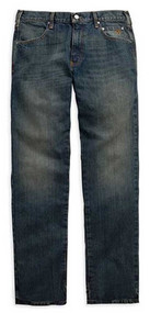 Harley-Davidson Men's Modern Straight Jeans Dark Wash Denim. 99004-15VM - Wisconsin Harley-Davidson