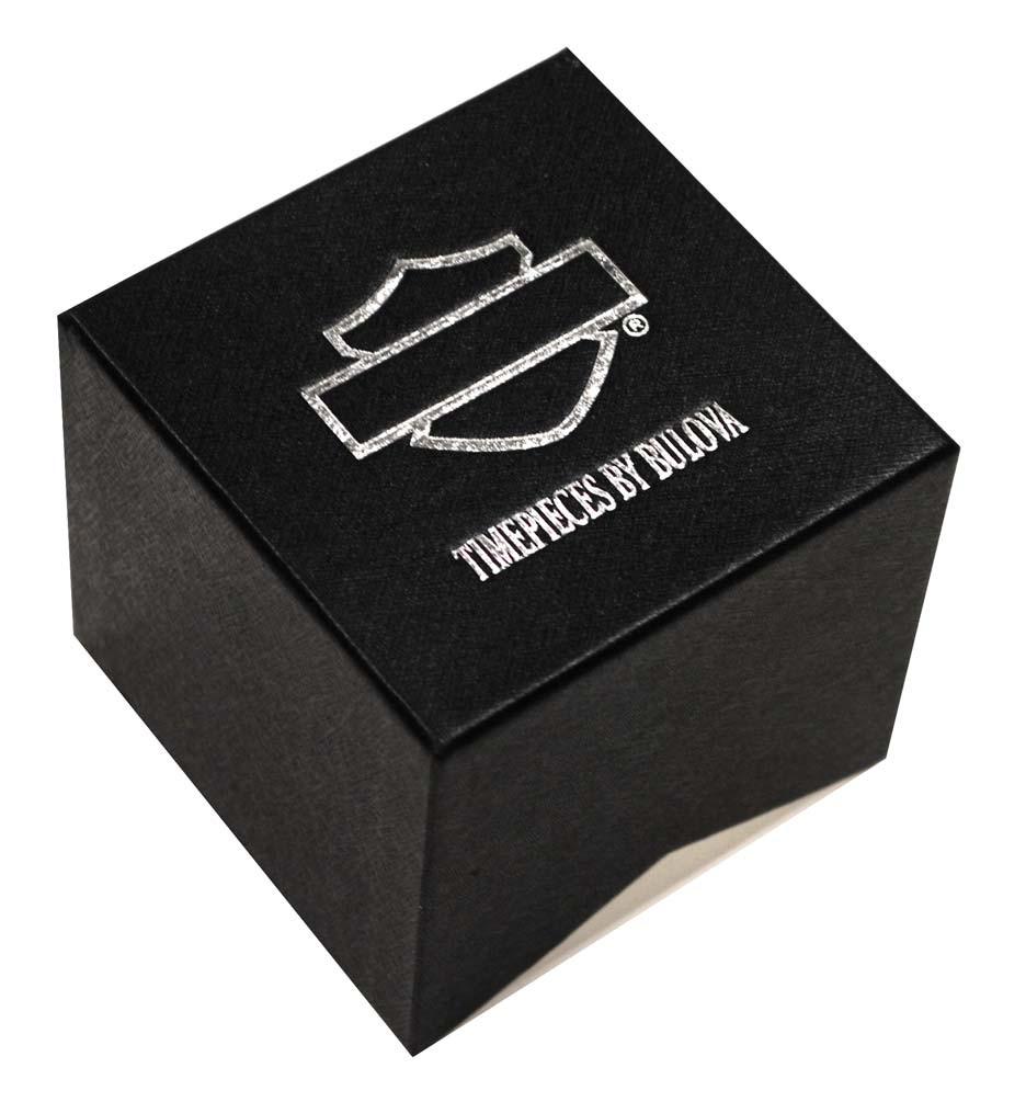 Harley-Davidson Women s Spoke Pattern Dial Wrist Watch Gold Accents 78L114  - Wisconsin Harley- 5debae548e8