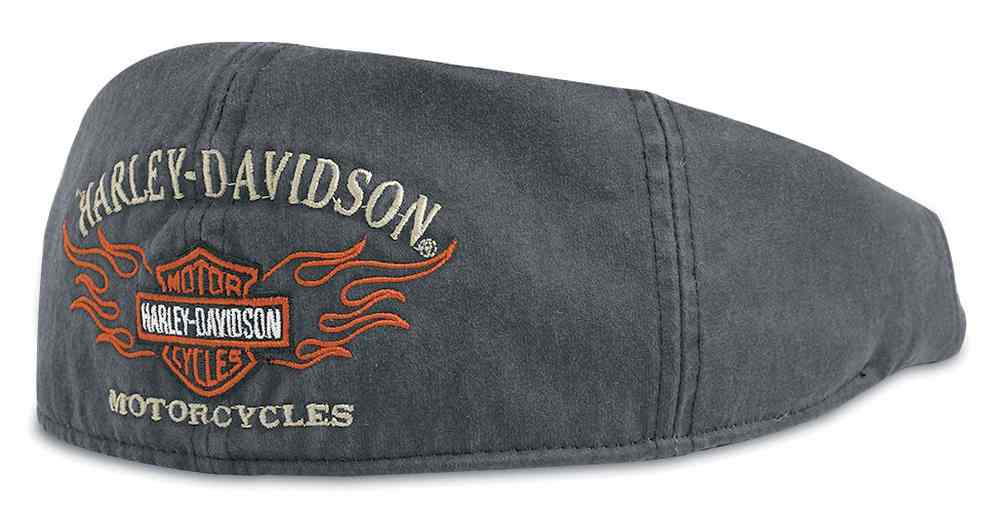 a92c6336c Harley-Davidson® Men's Bar & Shield Flames Graphic Ivy Cap 99537-11VM