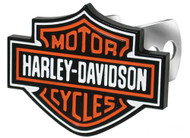 Harley-Davidson Bar & Shield Hitch Plug, 1-1/4-Inch and 2-Inch Brackets P2216 - Wisconsin Harley-Davidson
