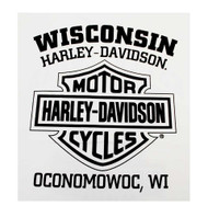 Harley-Davidson Men's Shirt, Willie G Skull Long Sleeve Tee, White 30296646 - Wisconsin Harley-Davidson