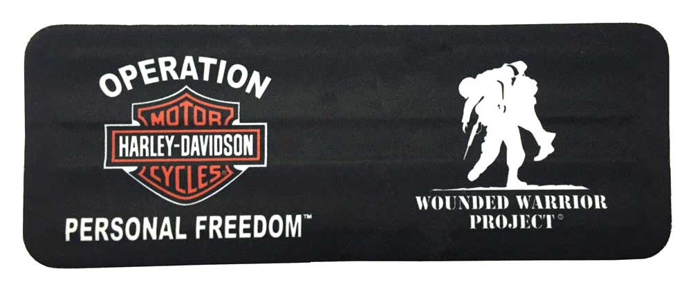 058ddc64d5933 Harley-Davidson® Wounded Warrior Project Slap Wrist Can Wrap