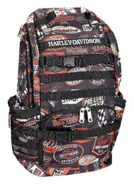 Harley-Davidson Night Ops Stellar Backpack, Black 99214-VINTAGE - Wisconsin Harley-Davidson