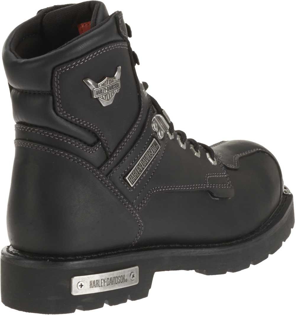 0ae07a58e12 Harley-Davidson® Men's Baker Black Leather Performance Motorcycle Boots.  D96083