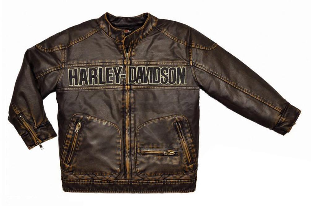 6200b1e4b Harley-Davidson® Little Boys  Laundered P.U. Motorcycle Biker Jacket ...