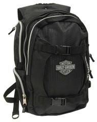 Harley-Davidson Bar & Shield Equipt Multi-Functional Backpack, Black 99419 - Wisconsin Harley-Davidson
