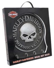 Harley-Davidson Sculpted 3D Willie G Skull Key Rack, Textured Finish HDL-15313 - Wisconsin Harley-Davidson