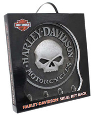 Harley-Davidson Sculpted 3D Willie G Skull Key Rack, Textured Finish HDL-15313 - Wisconsin Harley-Davidson